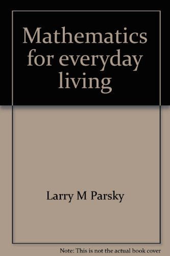 Mathematics for everyday living (Target math): Parsky, Larry M