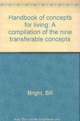 9780866050111: Handbook of concepts for living: A compilation of the nine transferable concepts