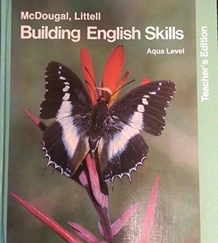9780866090032: Building English Skills: Aqua Level