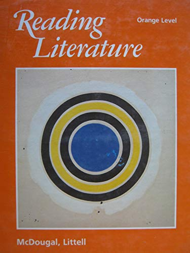 9780866092319: Reading Literature Orange Level