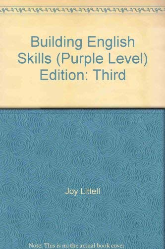 9780866093231: Building English Skills (Purple Level)