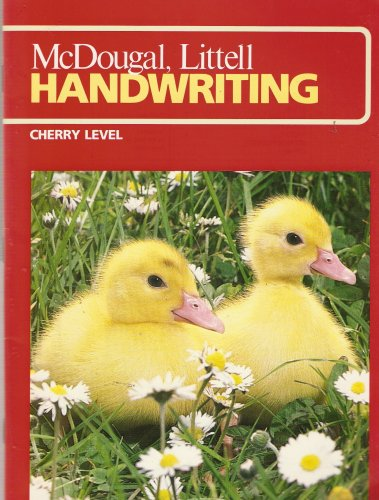 McDougal School Handwriting: 17 K Student Edition: HOUGHTON MIFFLIN