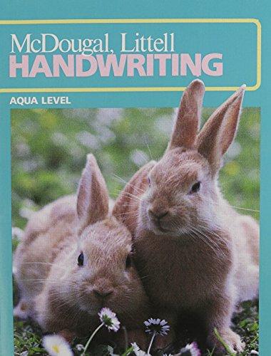 9780866097345: McDougal School Handwriting: Student Edition Consumable Grade 4 1987