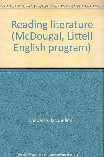 9780866099295: Reading literature (McDougal, Littell English program)