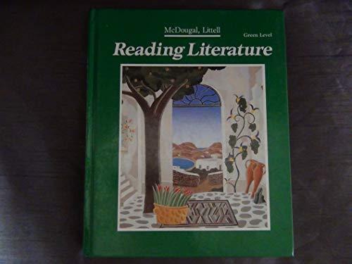9780866099400: Vistas in Reading Literature/Green Level