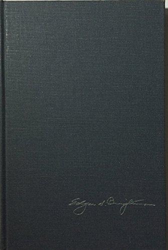 Studies in Personalism (Steinkraus, Warren and Beck, Robert): Edgar Sheffield Brightman