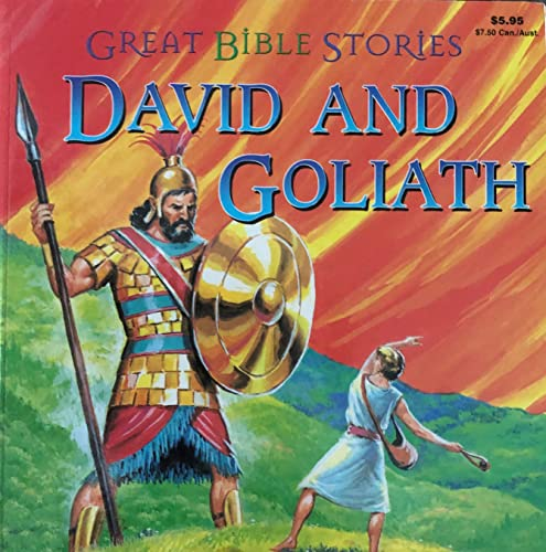 9780866110044: David and Goliath (Great Bible Stories)