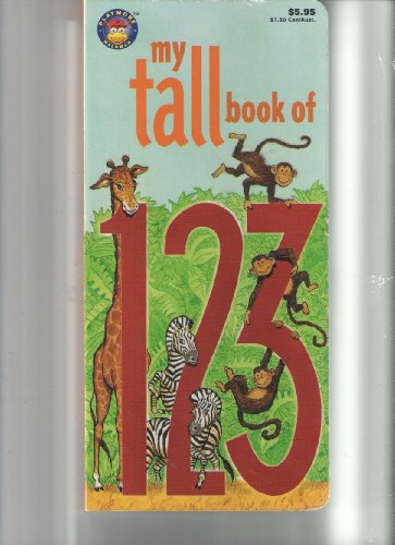 9780866110358: My Tall Book of 123 (My Tall Book Of....)