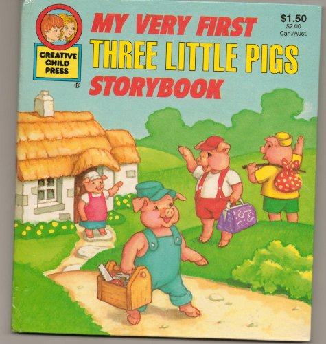 My Very First Three Little Pigs Storybook: Rochelle Larkin (Adapted