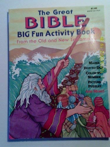 9780866114011: The great Bible big fun activity book: From the old and new testaments