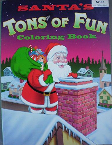 9780866114639: Santa's Tons of Fun Coloring Book