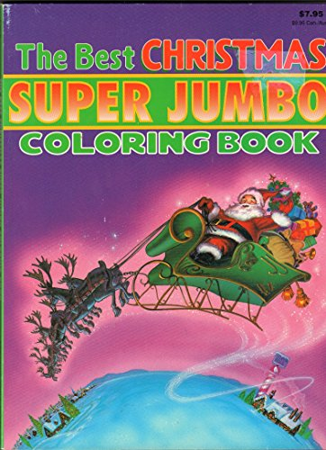 9780866114868: The Best Christmas Super Jumbo Coloring Book ...