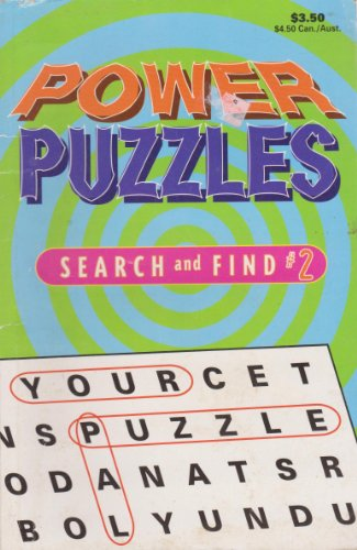 Power Puzzles; Search and Find #2: Inc. Publishers and
