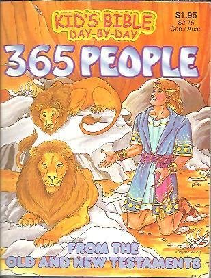 365 People - Kid's Bible Day-By-Day (From the Old and New Testaments): Gross, Martin