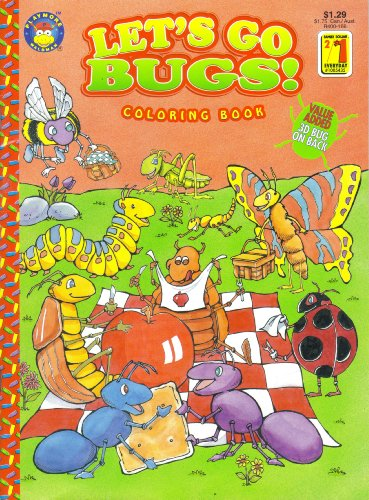 Let's Go Bugs! (Coloring Book): Playmore Inc. Publishers