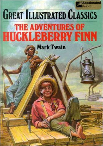 9780866119658: The Adventures of Huckleberry Finn (Great Illustrated Classics)