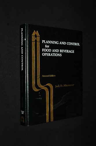 9780866120296: Planning and Control for Food and Beverage Operations