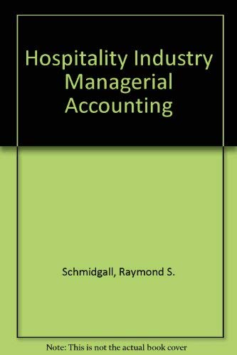9780866120326: Hospitality Industry Managerial Accounting