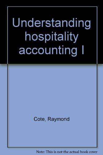 9780866120357: Understanding hospitality accounting I