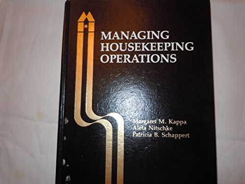 9780866120470: Managing Housekeeping Operations
