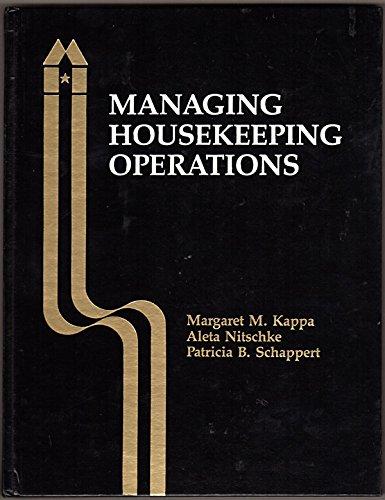 9780866120470: Managing Housekeeping Operations