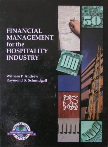 9780866120517: Financial Management for the Hospitality Industry