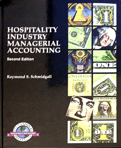 9780866120586: Hospitality industry managerial accounting