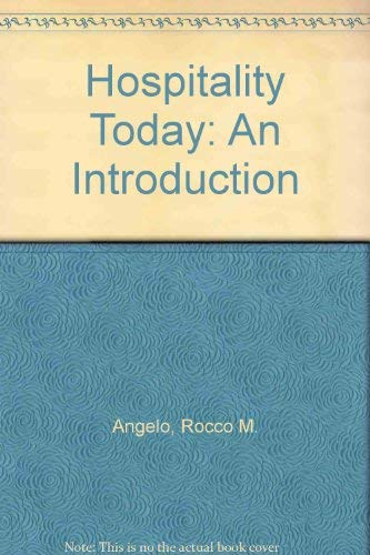 9780866120609: Hospitality Today: An Introduction