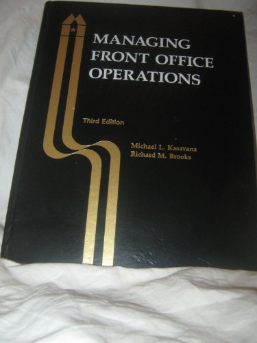 9780866120616: Managing Front Office Operations