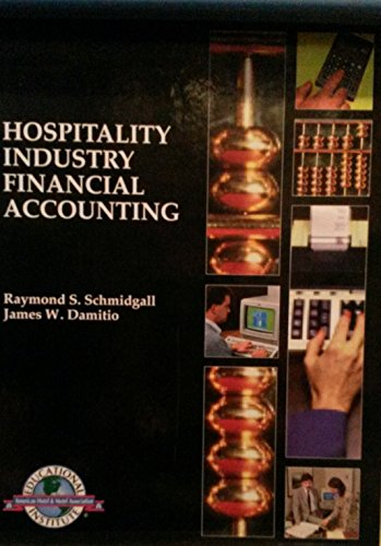 9780866120722: Hospitality Industry Financial Accounting