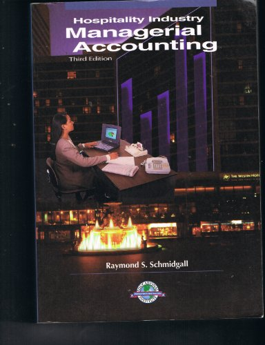 9780866120869: Hospitality Industry Managerial Accounting