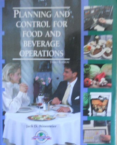 9780866120999: Planning and Control for Food and Beverage Operations