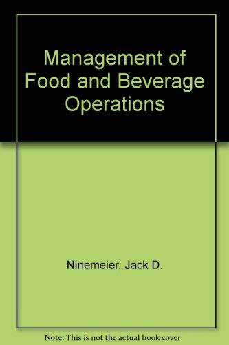 9780866121002: Management of Food and Beverage Operatio