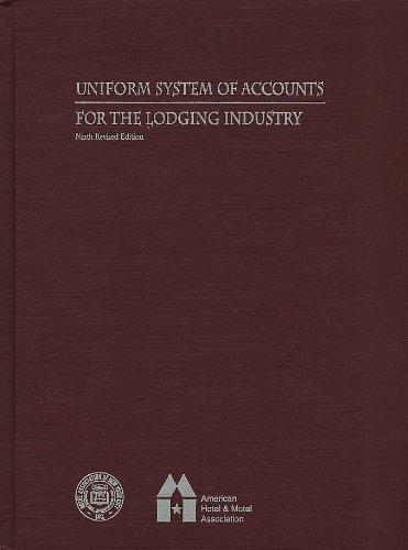 9780866121286: Uniform System of Accounts Forecasting