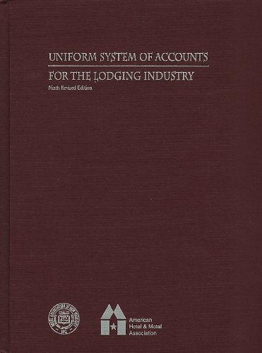 9780866121286: Uniform System of Accounts for the Lodging Industry
