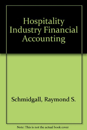 9780866121330: Hospitality Industry Financial Accounting