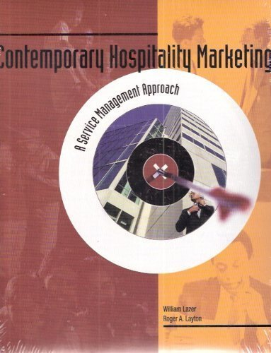 9780866121583: Contemporary Hospitality Marketing: A Service Management Approach