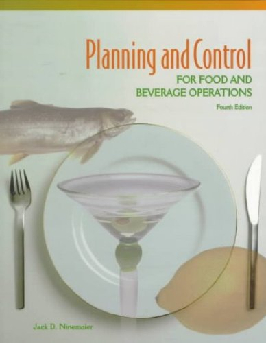 9780866121613: Planning and Control for Food and Beverage Operations