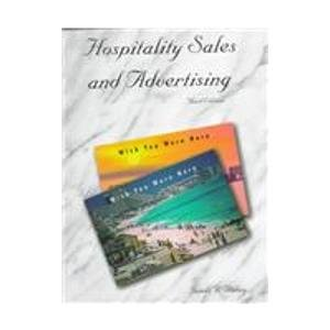 9780866121743: Hospitality Sales and Advertising
