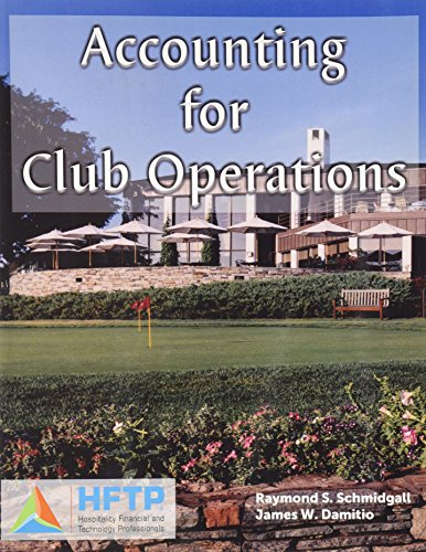 9780866121903: Accounting for Club Operations