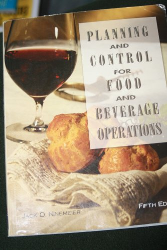 9780866122313: Planning and Control for Food and Beverage Operations