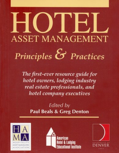 9780866122597: Hotel Asset Management: Principles and Practices