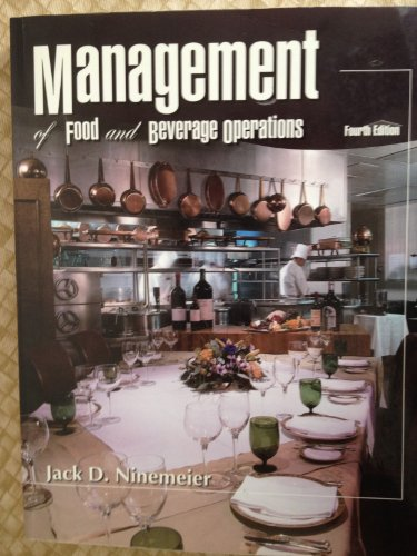 9780866122689: Management of Food And Beverage Operations