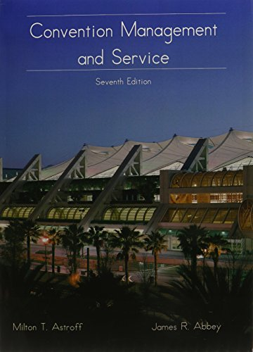 9780866122801: Convention Management and Service