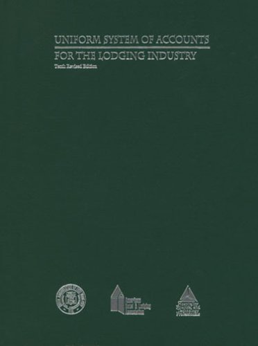 9780866122825: Uniform System of Accounts for the Lodging Industry
