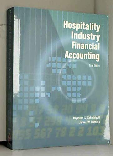 9780866122849: Hospitality Industry Financial Accounting