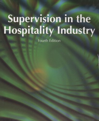 9780866122955: Supervision in the Hospitality Industry