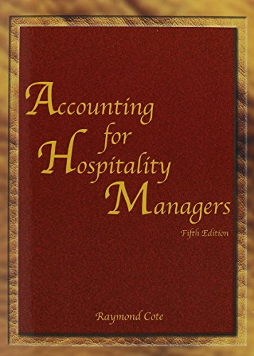 9780866122979: Accounting for Hospitality Managers