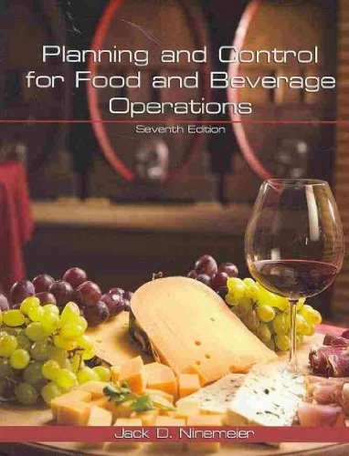 9780866123396: Planning and Control for Food and Beverage Operations