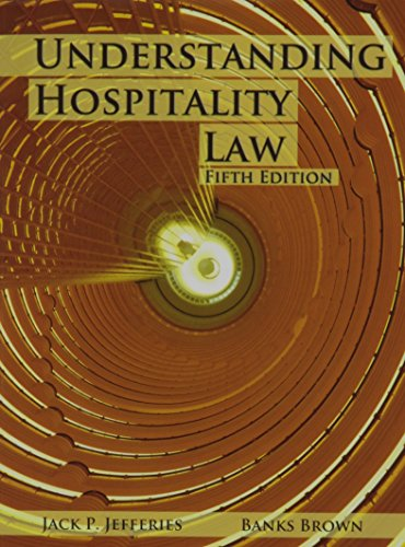 9780866123457: Understanding Hospitality Law